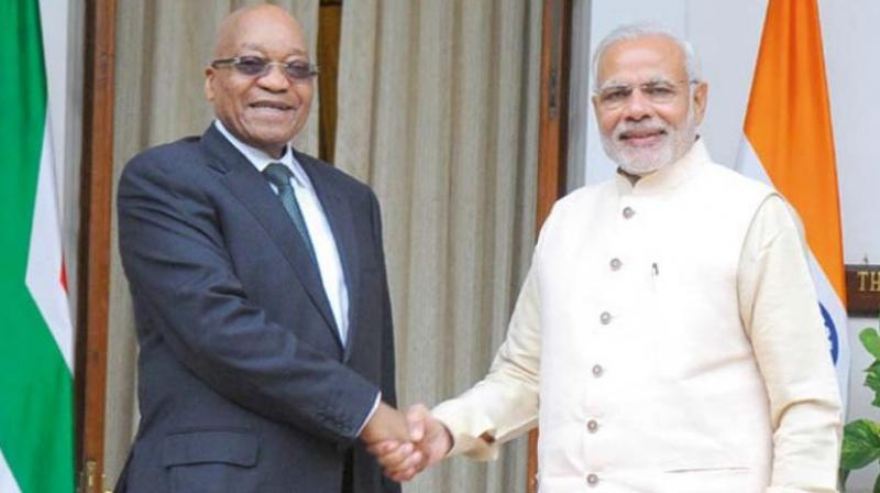 PM Modi concludes Mozambique visit, departs for South Africa