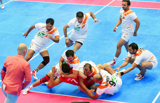 India batter Argentina 74-20 in Kabaddi World Cup
