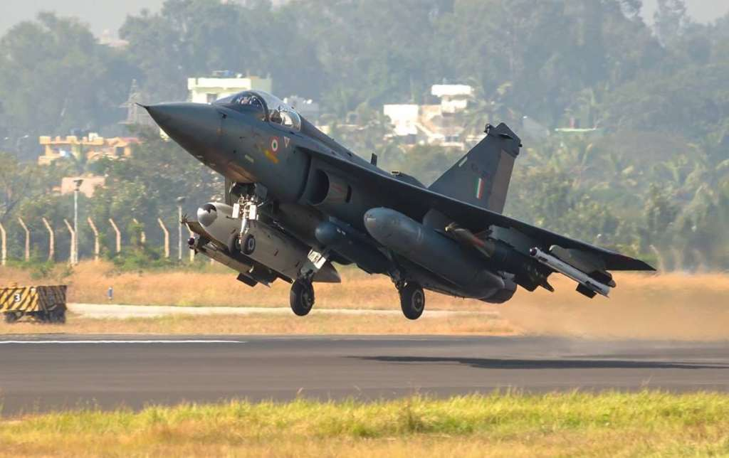 AA Tejas all up