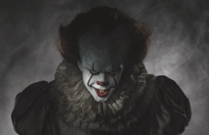 Pennywise in 'It' 2017