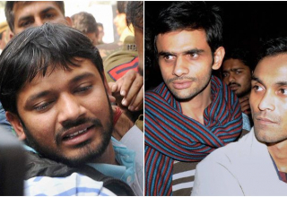 JNU Fines Umar, Anirban and Kanhaiya