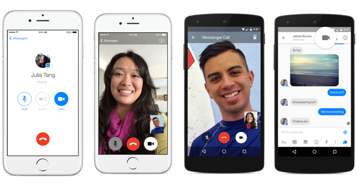 Video Calling in Messenger