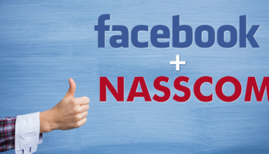 NASSCOM & Facebook Signs