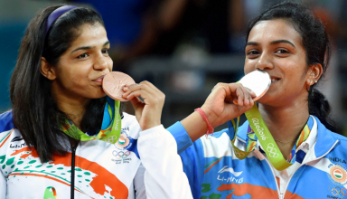 Salman cheers for Olympic-bound shooter Ayonika Paul