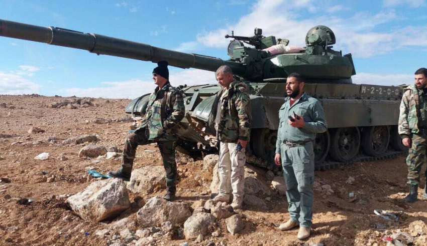 Syrian Army and Jihadist Battle in Aleppo