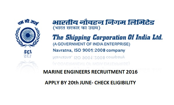 government job for marine engineers
