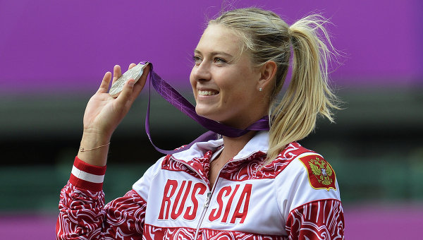 Suspended Sharapova named in Russia Olympic Squad