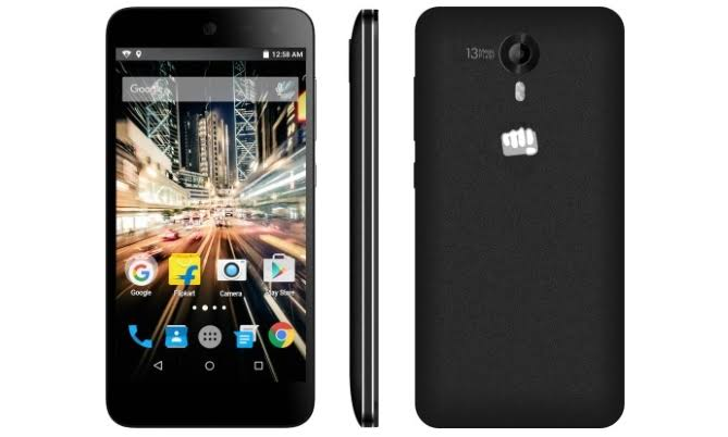 Micromax Canvas