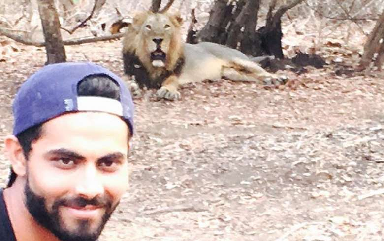 Selfie with Lions