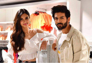 Kartik Aryan and Diana Penty