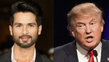 Shahid Kapoor Likely To Shake Hands With Donald Trump
