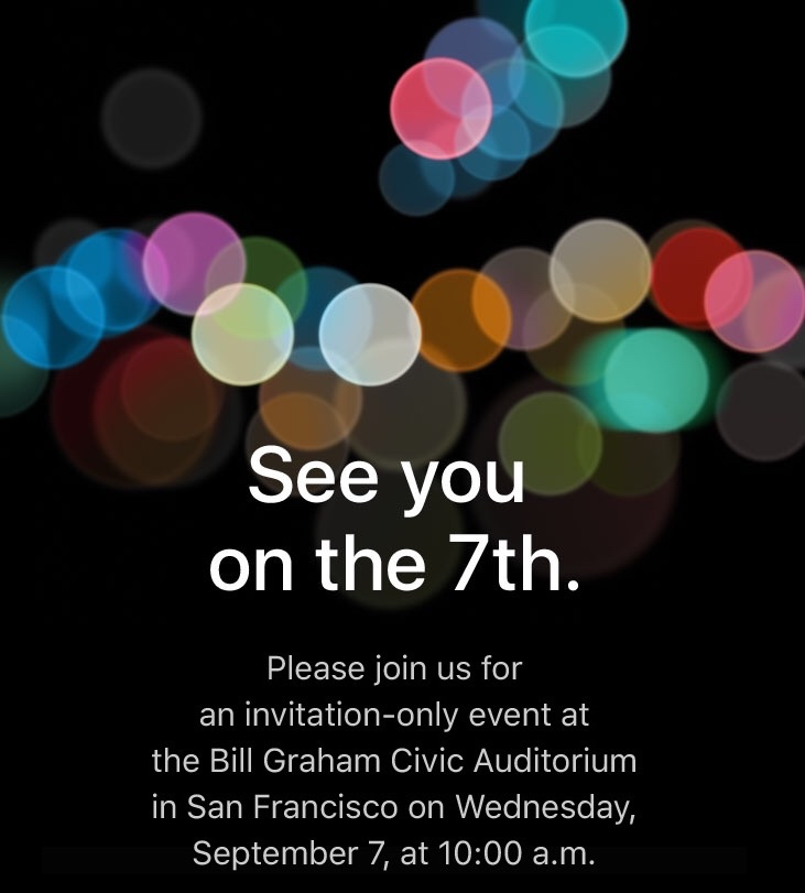 Apple event guide