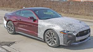 2018 Ford Mustang Spied Testing