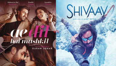 Ae Dil Hai Mushkil vs Shivaay Box Office Comparison