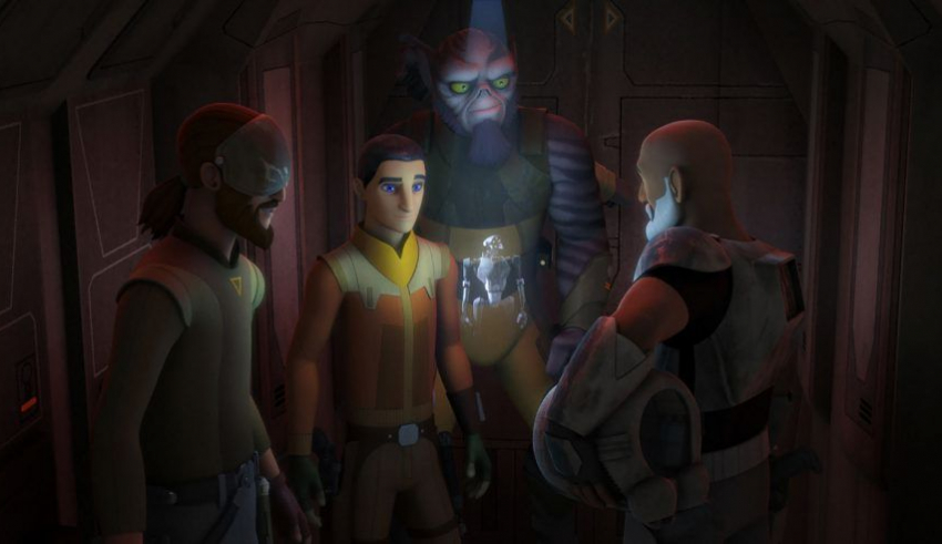 Star Wars Rebels Season 3 Episode 6