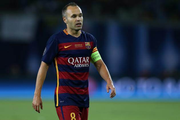 Luis Enrique will hope that Andres Iniesta makes a swift recovery in time to return for El Clasico.