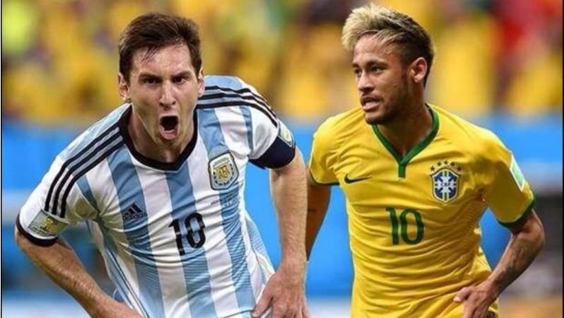 Brazil vs Argentina World Cup 2018 Qualifier