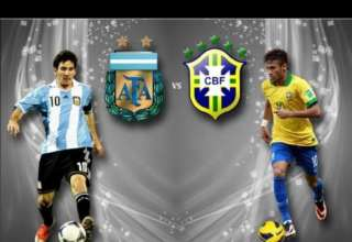 Brazil vs Argentina World Cup Qualifier 2016