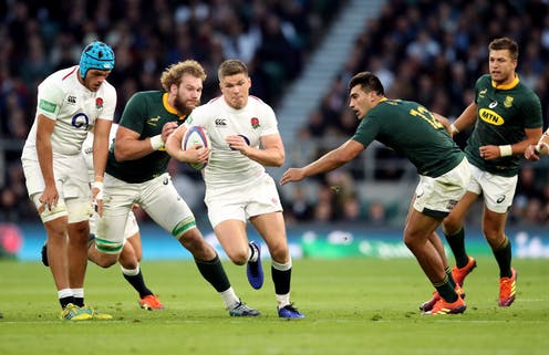 England vs South Africa Rugby International