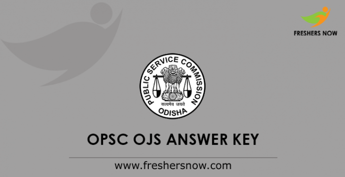 OPSC Civil Services Prelims Answer Keys