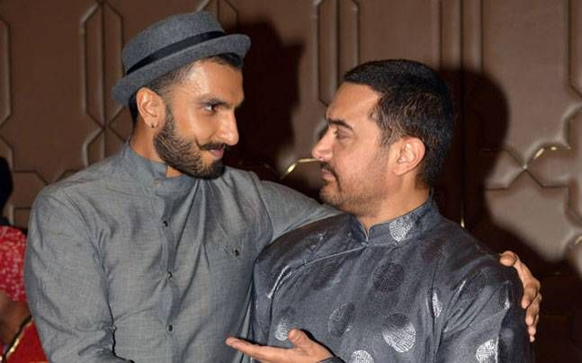 Aamir Khan and Ranveer Singh