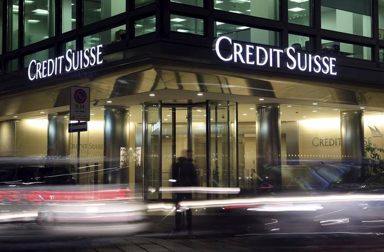 Deutsche Bank and Credit Suisse