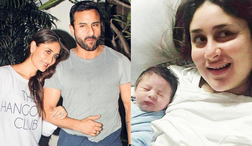 Saif Ali Khan and Kareena Kapoor Blessed with a Baby Boy!