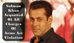 salman arms act