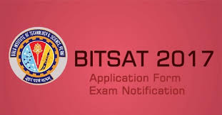 BITSAT 2017 Application Form