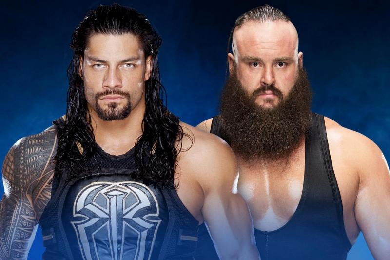Roman Reigns vs Braun Strowman
