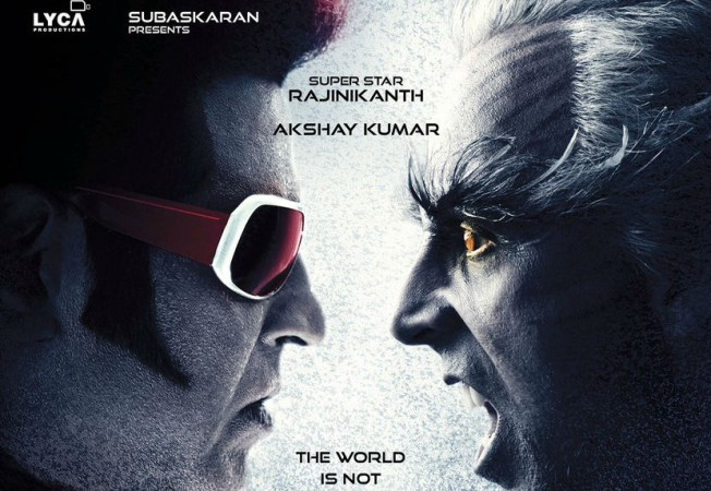 Rajinikanth and Akshay Kumar