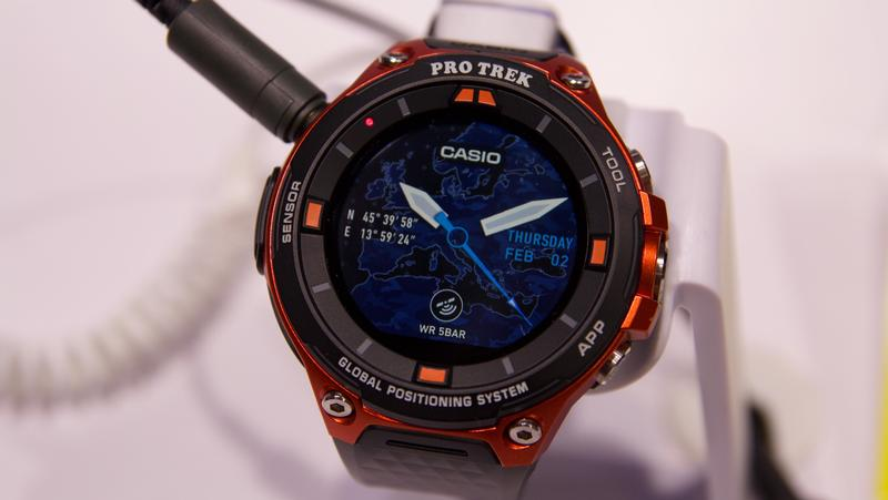 Casio PRO TREK Smart WSD-F20S Smartwatch Announced