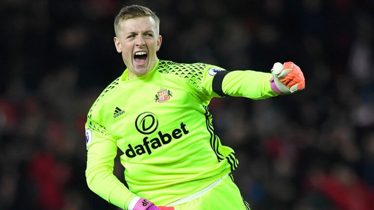 7e131a977 Jordan Pickford has attracted attention from a number of English clubs and  Liverpool is reportedly leading the race