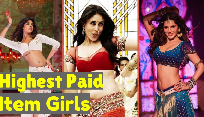 Highest Paid Item Song Girls In Bollywood