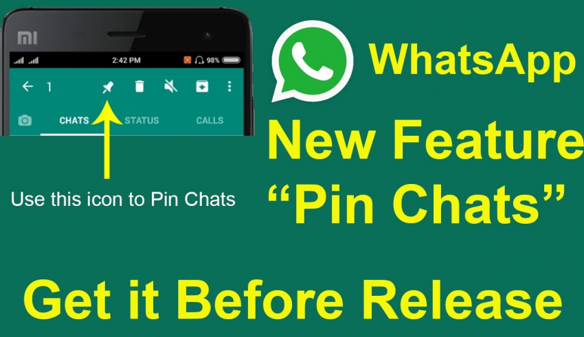 Whatsapp launches pinned chats feature