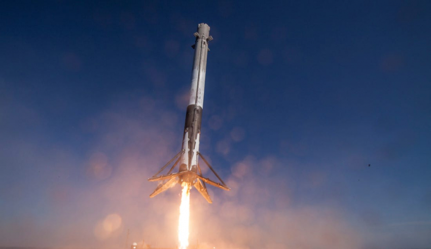 SpaceX's beautiful rocket launch and landing just made history
