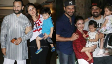 Taimur attends Laksshya Kapoor's birthday bash