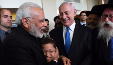 PM meets miracle child survivor Moshe in Israel