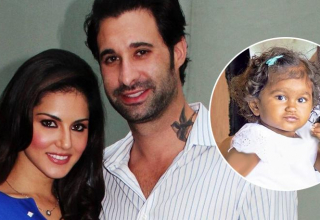 Sunny Leone and Daniel Weber adopt a girl child