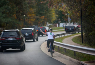 Woman fired after giving Trump's motorcade the finger