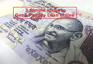 3 Simple steps to get a Payday Loan online