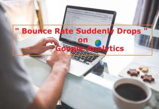 Images Bounce Rate Suddenly Drops on Google Analytics