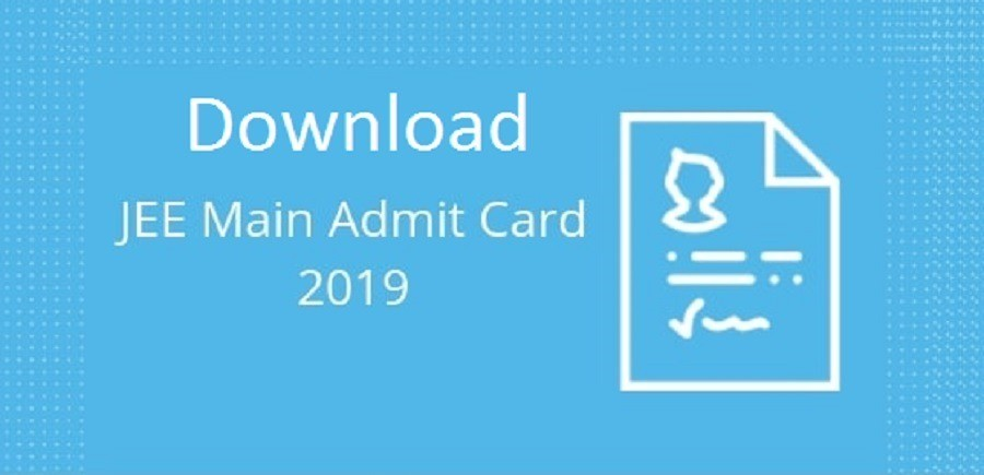 JEE Admit card Download