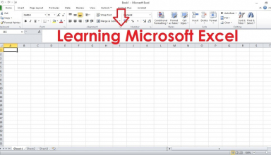 Learning Microsoft Excel