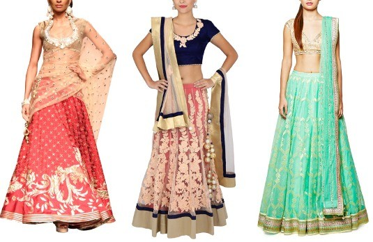 Shopping for a lehenga wedding