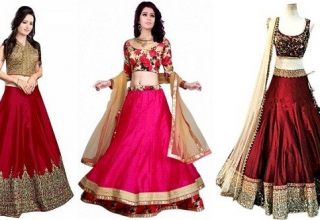 Shopping for a wedding lehenga