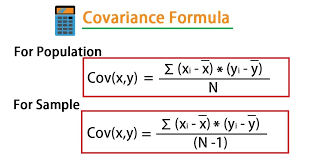 covariance-definition-formula