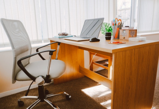 Home or Office With Modern Design Wood Furniture