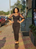 Tanushree Dutta sizzles in black