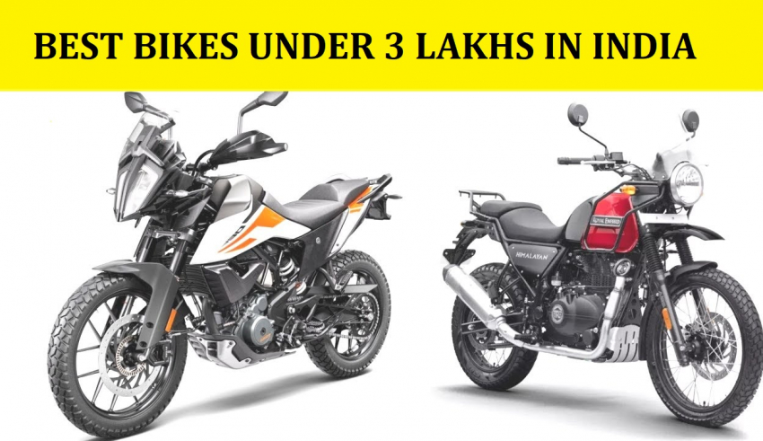 Bikes Under 3 Lakhs In India